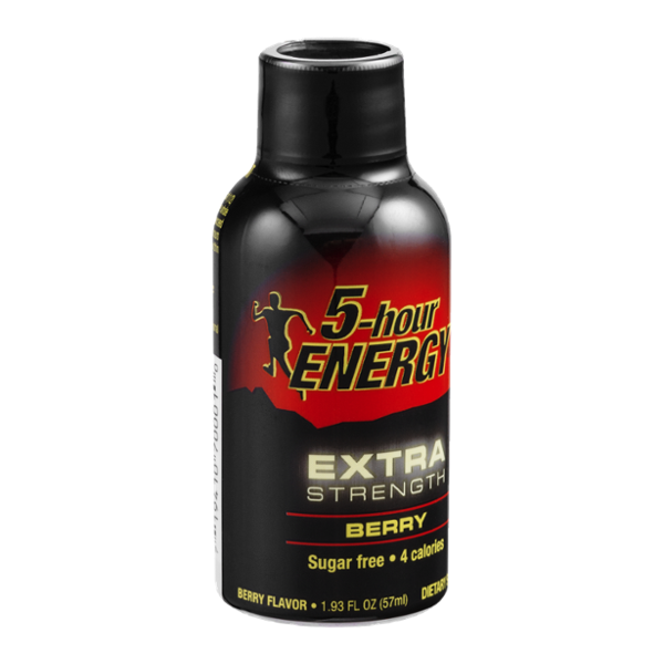5-Hour Energy Drink Extra Strength Berry