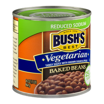 Bush's Best Vegetarian Baked Beans Reduced Sodium