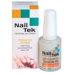 Nail Tek Foundation Xtra Ridge-Filling Nail Strengthener
