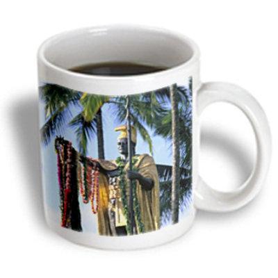 Recaro North 3dRose - Danita Delimont - Hawaii - King Kamehameha Statue Hilo Island of Hawaii - US12 DPB0438 - Douglas Peebles - 11 oz mug