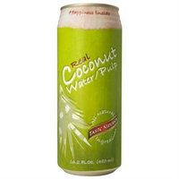 Taste Nirvana Real Coconut Water with Pulp - 16 fl oz