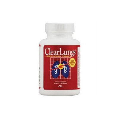 Ridgecrest Herbals - Clearlungs Red/Herbal - 60 Capsules