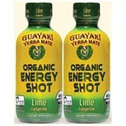 Guayaki - Organic Energy Shot Lime Tangerine - 2 oz.