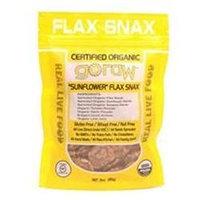 Go Raw - Organic Flax Snax Sunflower - 3 oz.