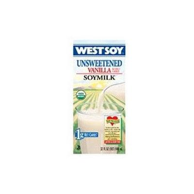 WESTSOY Organic Vanilla Unsweetened Westsoy 32 OZ