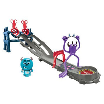 Spin Master Toys Monsters University Roll-A-Scare Toxic Race Playset