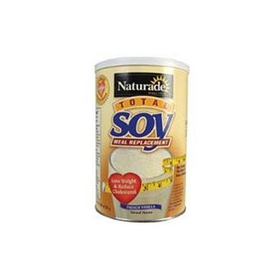 Naturade Total Soy Meal Replacement French Vanilla - 18 oz