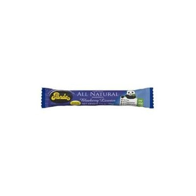 Panda Licorice 92901 Panda Licorice Blueberry Bars- 36x1.1 Oz
