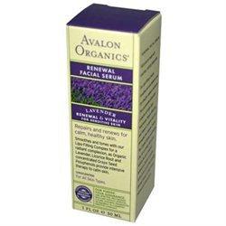 Avalon Organics Renewal Facial Serum Lavender - 1 fl oz