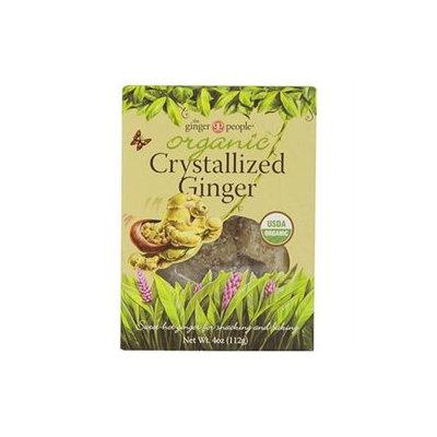 Ginger People Organic Crystallized Ginger Box - 4 oz
