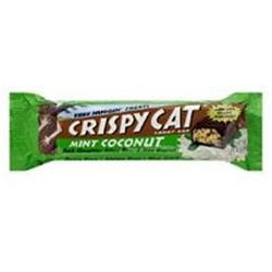 Crispy Cat 29632 Organic Mint Coconut Candy Bar
