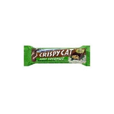 Crispy Cat 29632 Organic Mint Coconut Candy Bar