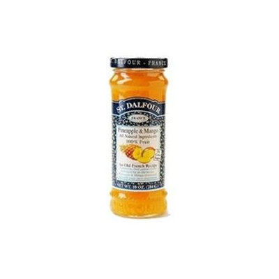 St. Dalfour Conserve Pineapple and Mango (6x10 Oz)