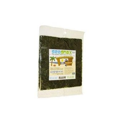 SeaSnax - Raw Raw Raw Unroasted Seaweed - 10 Sheets