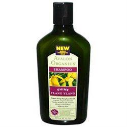 Avalon Organics Glistening Shampoo Ylang Ylang - 11 fl oz