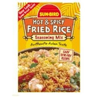 Sunbird Seasoning Mix Hot & Spicy Fried Rice 0.75 Oz Pack Of 24