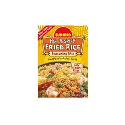 Sunbird Seasoning Mix Hot & Spicy Fried Rice 0.75 Oz Pack Of 24