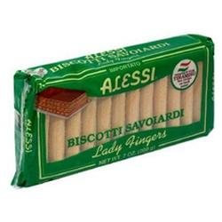 Alessi Lady Fingers Cookies, 7 oz, - Pack of 12