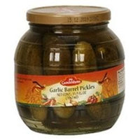 Gundelsheim B75204 Gundelsheim Garlic Barrel Pickles -6x35.9 Oz