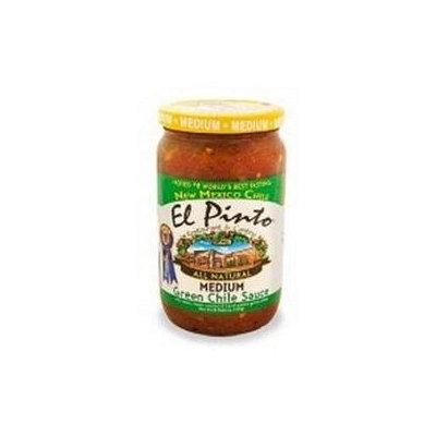 El Pinto Medium Green Chili Sauce (6x16 Oz)