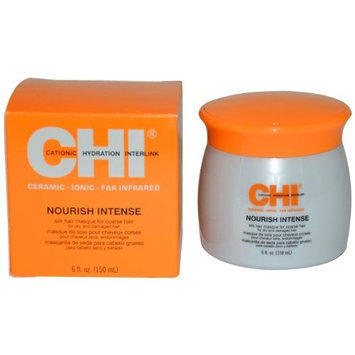 Nourish Intense Silk Masque for Coarse Hair Unisex Masque by CHI, 6 Ounce