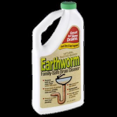 Earthworm Family-Safe Drain Cleaner