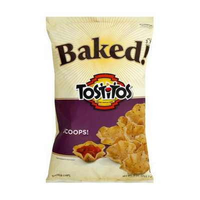 Tostitos Baked!  Scoops Tortilla Chips 9 oz