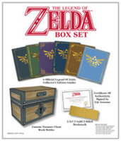 Prima Publishing The Legend of Zelda Strategy Guide Box Set