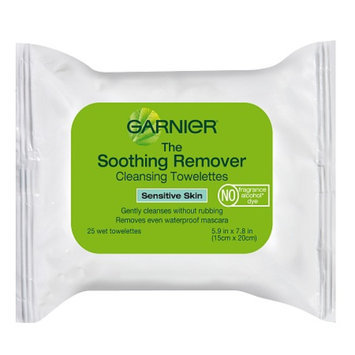 Garnier The Soothing Remover Cleansing Towelettes For Sensitive Skin