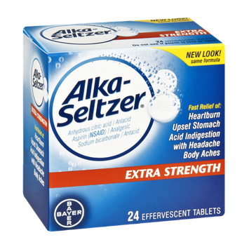 Alka-Seltzer Extra Strength Effervescent Tablets - 24 CT