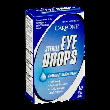 CareOne Sterile Eye Drops Advanced Relief Moisturizer