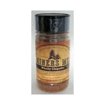 Miner Mix Miners Mix Wholly Chipotle Seasoning and Rub, 6 Ounce