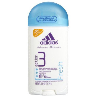 Adidas Action 3 Fresh Anti-perspirant (One Stick)