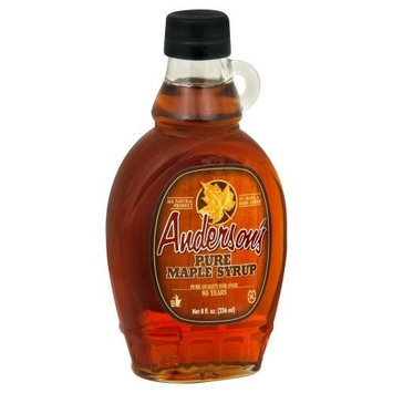 Anderson's Maple Syrup Maple Syrup, Grade A, 8-Ounce (Pack of 3)