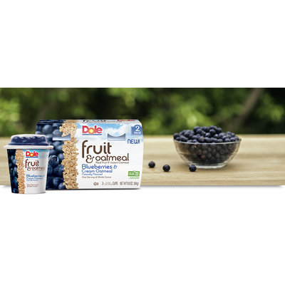 Dole Fruit & Oatmeal Blueberries & Cream Oatmeal