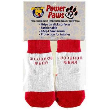 Woodrow Wear Power Paws Advanced Medium Red/White Stripe