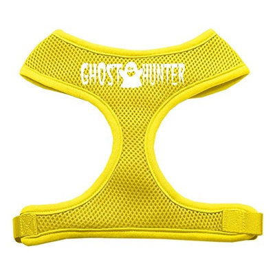Mirage Pet Products 7013 XLYW Ghost Hunter Design Soft Mesh Harnesses Yellow Extra Large