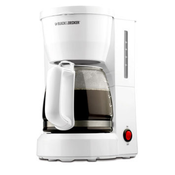 5-Cup Coffeemaker in White