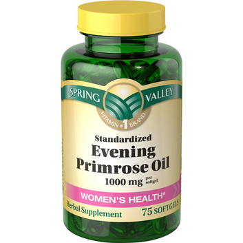 Spring Valley Women's Health Evening Primrose Oil 1000 mg Per Softgel 75 ct