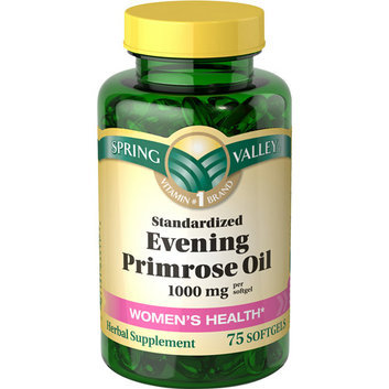 Spring Valley Women's Health Evening Primrose Oil 1000 mg Per Softgel 75 ct