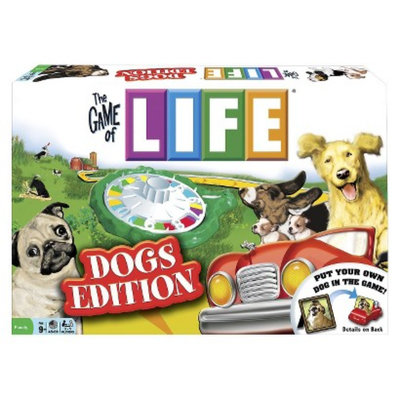 Winning Moves The Game of Life Dogs Edition