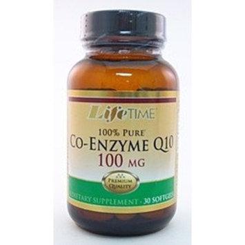 Co Enzyme Q10 100mg LifeTime 30 Softgel