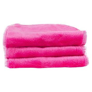 Blooming Bath Petals Washcloths 3pk - Hot Pink