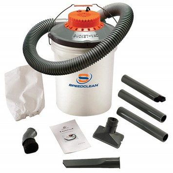 BUCKETVAC BV5 Wet/Dry Vacuum, 1 HP, 5 gal, 110V