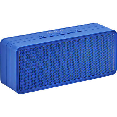 Insignia™ - Portable Bluetooth Stereo Speaker - Dark Blue