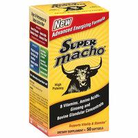 Placeholder Super Macho: B Vitamins/Amino Acids/Ginseng & Bovine Glandular Concentrate Softgels Dietary Supplement