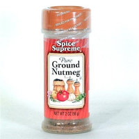 Spice Supreme Nutmeg, Ground, 1.25-Ounce (Pack of 12)