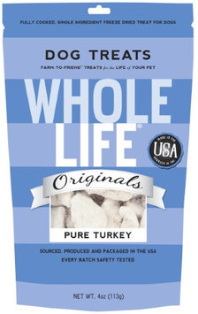 Whole Life Freeze-Dried Dog & Cat Treats Turkey 4 oz
