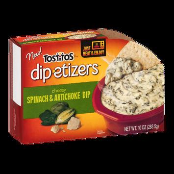Tostitos Dip-etizers Cheesy Spinach & Artichoke Dip