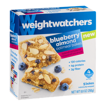Weight Watchers Blueberry Almond Oatmeal Bakes - 5 CT